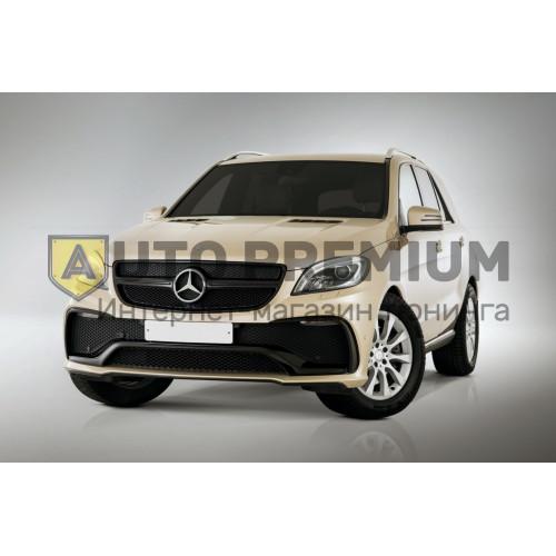 Передний бампер для Mercedes ML 350 (2011 - 2015 г.)